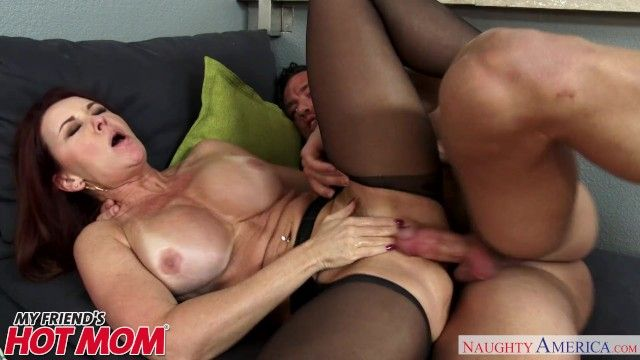 Redheaded milf janet mason seduces her sons juvenile ally - nasty america