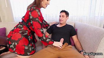 Breasty principal sara jay disciplines teacher with a pumping