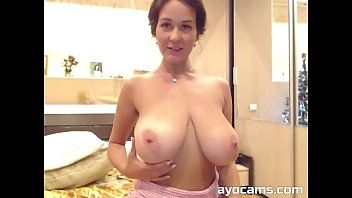 Astounding milf with pretty massive natural scoops