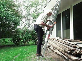 70 Jahre alter Großvater Bonks 18 Jahre altes heißes Stöhnen und Concupiscent