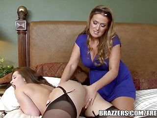 Brazzers - milf teaches legal age teenager a lesson