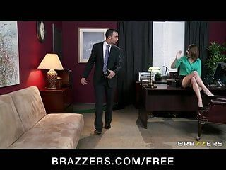 Brazzers - blonde breasty secretary alexis ford bonks her boss