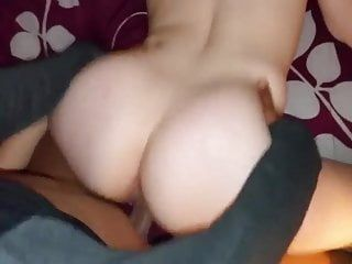 Dilettante hotwife copulates untill creampie