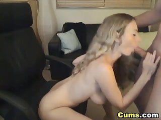 Hawt golden-haired wife pumped hd