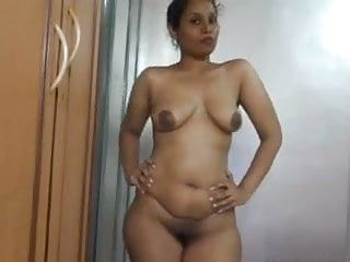 Hot indian milf cant live without to show her in natures garb body