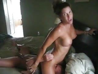 Superlatively good filthy talk milf cuckold bitch wife face sitting and fuck