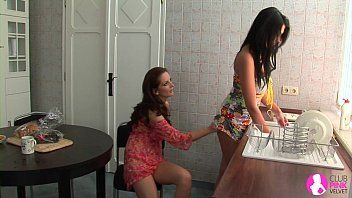 Tempted by 2 lesbo milfs - viv thomas hd